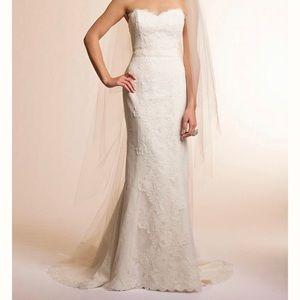 Amy Kuschel - wedding dress sz 8